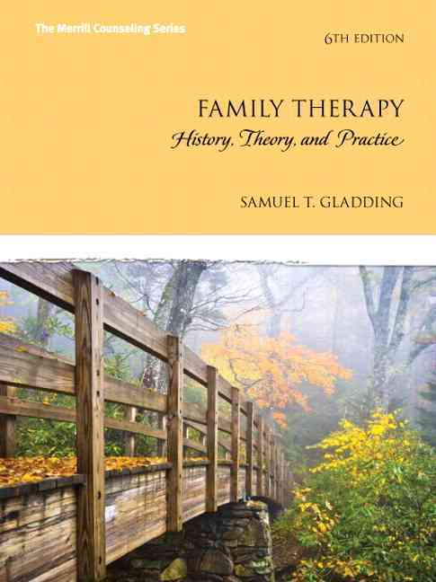 Family Therapy By Gladding, Samuel T.